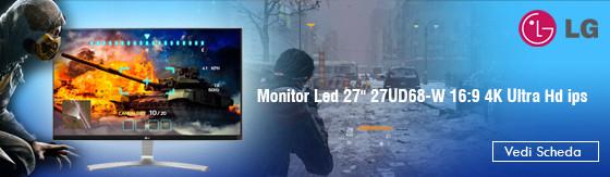 """Monitor Led 27"""" Lg 27UD68-W 16:9 4K Ultra Hd ips [27UD68-W]"""