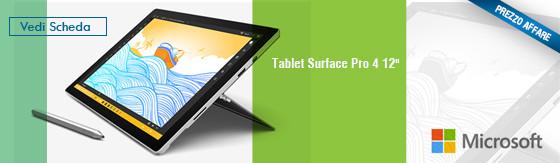 "Tablet Microsoft Surface Pro 4 12"" WIFI/M3-6Y30/4GB RAM/128GB/Win10 Pro [silver] [SU5-00003]"