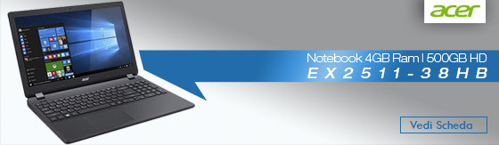 Notebook Acer EX2511-38HB 4GB 500GB [NX.EF6ET.008]