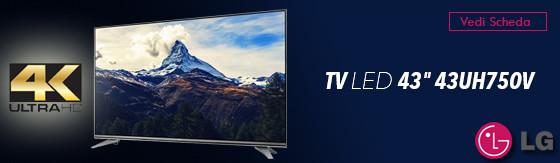 "Tv Led 43"" Lg 43UH750V 4K Ultra Hd"