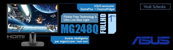 """Monitor Led 24"""" Asus MG248Q Full Hd [90LM02D0-B01370]"""
